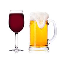 ビール・ワイン・お酒の画像
